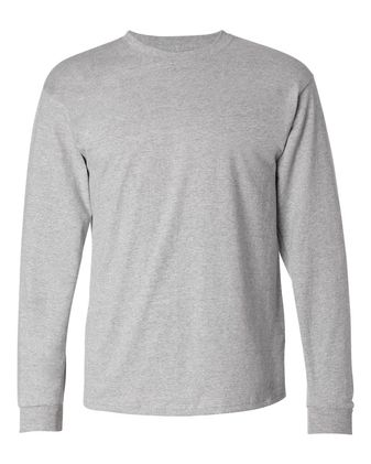Hanes Tagless Long Sleeve T-Shirt 5586