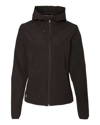 DRI DUCK Women\'s Ascent Hooded Soft Shell Jacket 9411