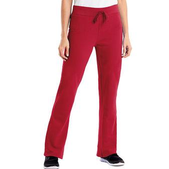Hanes Women\'s EcoSmart Cotton-Rich Drawstring Sweatpants W550