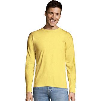 Hanes TAGLESS® Long-Sleeve T-Shirt Sty# 5586