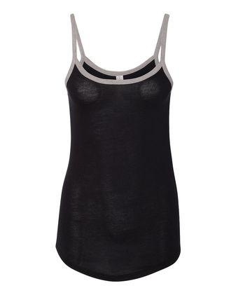 Alternative Women\'s Vintage 50/50 Ringer Cami Tank 5094