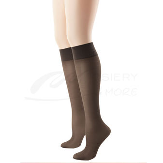 Hanes Alive Full Support Sheer Knee Highs 2-Pk 0A446