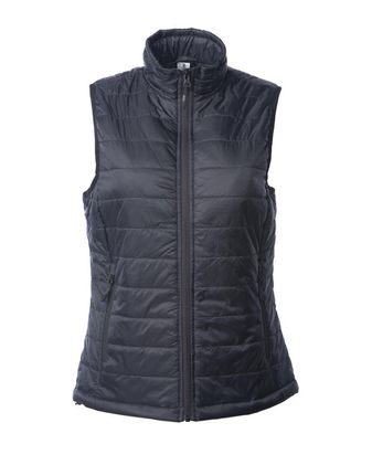 Independent Trading Co. Women\'s Puffer Vest EXP220PFV