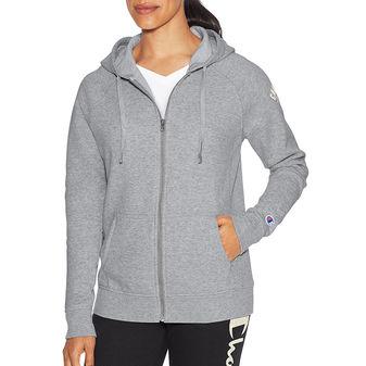 Champion Women Heritage Fleece Zip Hood W9536G