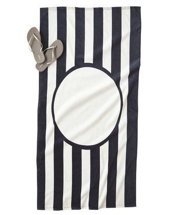 Carmel Towel Company Striped Beach Towel C3060ST