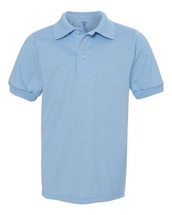 Jerzees Youth SpotShield 50/50 Sport Shirt 437YR