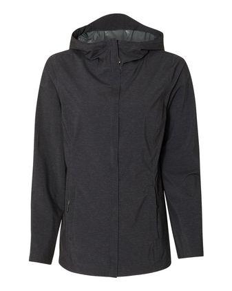 Weatherproof 32 Degrees Women\'s Melange Rain Jacket 17604W