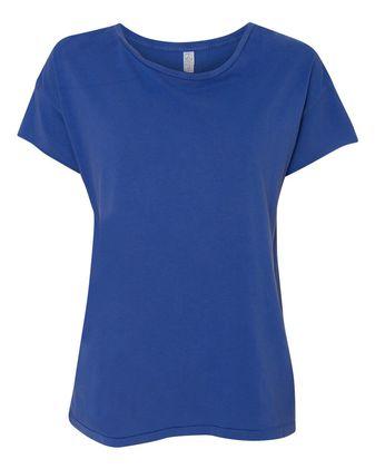 Alternative Women\'s Rocker Garment Dyed T-Shirt 4134