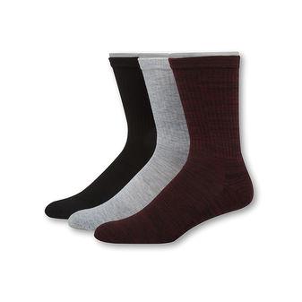 Hanes Men\'s 1901 Heritage Half Cushion Crew Socks 3-Pack HT2L3