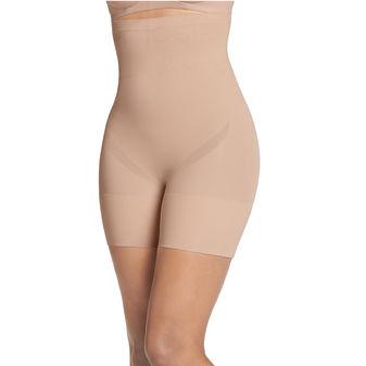Jockey Women\'s Slimmers Breathe High Waist Mid Length Short 4239