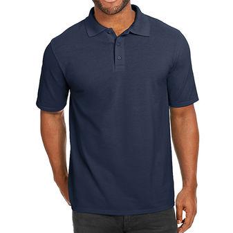 Hanes Men\'s X-Temp w/Fresh IQ Pique Polo Shirt 055P