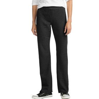 Hanes ComfortSoft™ EcoSmart® Women\'s Petite Open Leg Sweatpants O4634