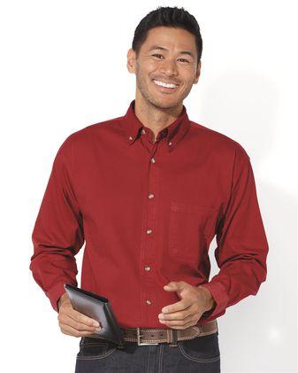Sierra Pacific Long Sleeve Cotton Twill Shirt 3201