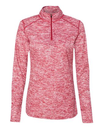 Badger Women\'s Blend Quarter-Zip Pullover 4193
