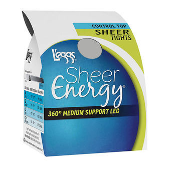 Leggs Sheer Energy Control Top Sheer Tight 60107