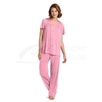 Vanity Fair Colortura Sleepwear Short Sleeve Pajama Set 90107
