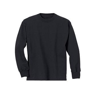 Hanes Youth ComfortSoft® TAGLESS® Long-Sleeve T-Shirt 5546