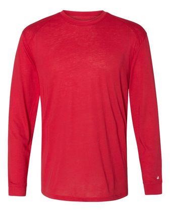 Badger Triblend Performance Long Sleeve T-Shirt 4944