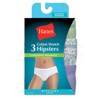 Hanes Stretch Hipster 3 pair ET41AS