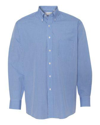 Van Heusen Gingham Check Shirt 13V0225