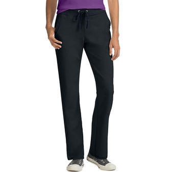 Hanes Women\'s French Terry Pocket Pant O4677