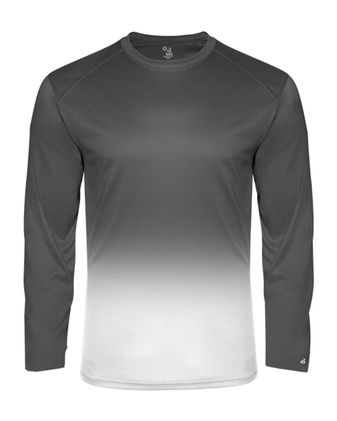 Badger Youth Ombre Long Sleeve T-Shirt 2204