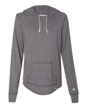 Champion Originals Women\'s Triblend Hooded Pullover AO150