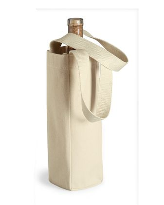 Liberty Bags Single Bottle Wine Tote 1725