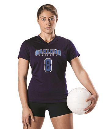 Alleson Athletic Women\'s Short Sleeve Volleyball Jersey A00231