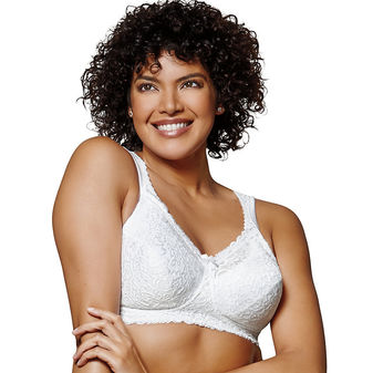 Playtex 18 Hour Comfort Lace Wirefree Bra 4088