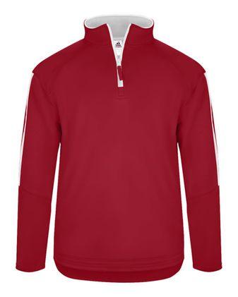Badger Sideline Fleece Quarter-Zip Pullover 1489