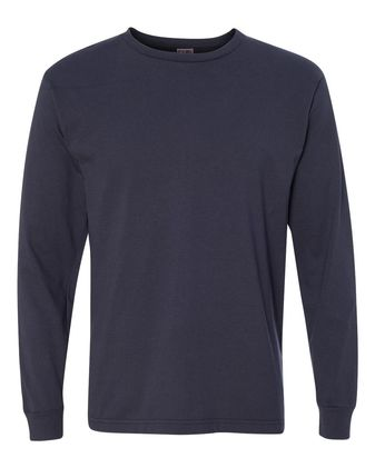 Bayside USA-Made 100% Cotton Long Sleeve T-Shirt 5060