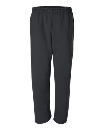 Gildan DryBlend® Open-Bottom Sweatpants with Pockets 12300