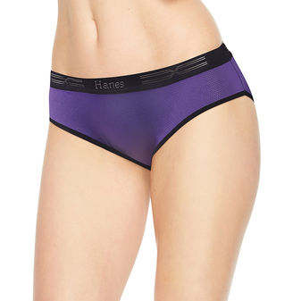 Hanes Women\'s Performance Cool X-Temp Hipster 3-Pack CX41AS