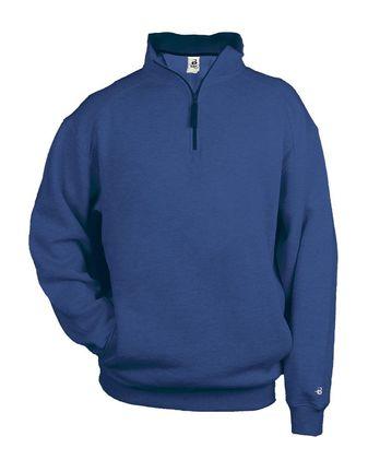 Badger Quarter-Zip Fleece Pullover 1286