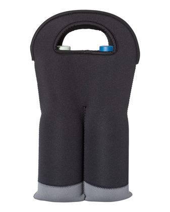 OAD Insulated Neoprene Double Wine Tote OAD020