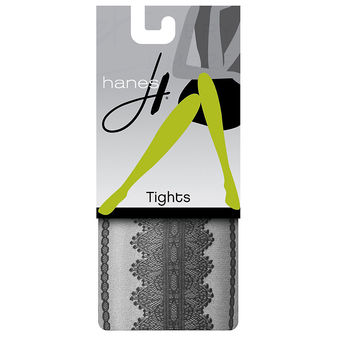 Hanes Lace Sheer Tights HFT004