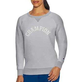 Champion Women Heritage Fleece Crew Top W9534G