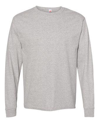 Hanes ComfortSoft® Long Sleeve T-Shirt 5286 B07BVMVFF4 4PK
