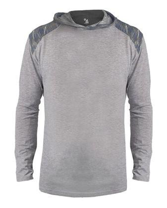 Badger Youth Vintage Flame Triblend Hooded T-Shirt 2973