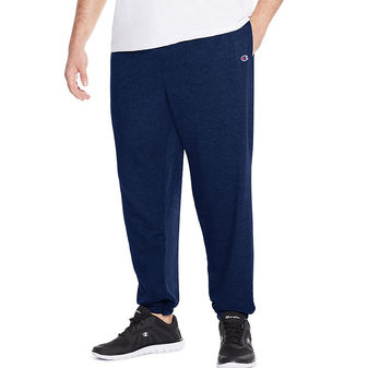 Champion Big & Tall Men\'s Jersey Pants with Elastic Bottom CH306