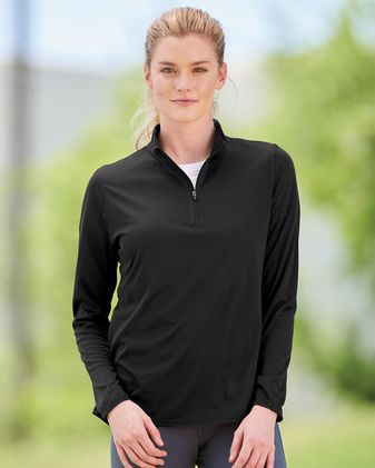 Augusta Sportswear Women\'s Attain True Hue Performance Quarter-Zip Pullover 2787