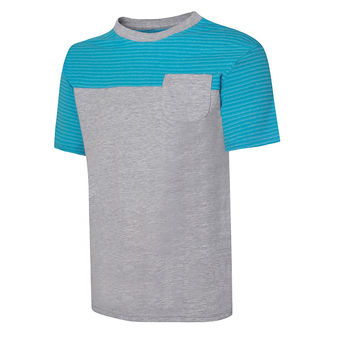 Hanes Boys X-Temp Colorblocked SS Pocket Tee Shirt D185