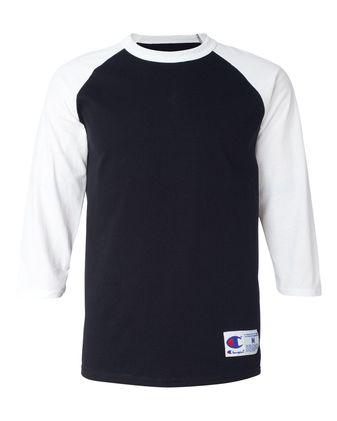 Champion Raglan Baseball T-Shirt T137