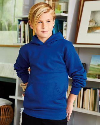 Hanes Ecosmart® Youth Hooded Sweatshirt P473
