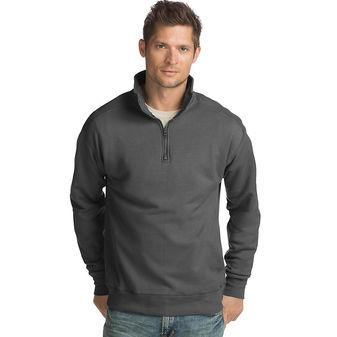 Hanes Men\'s Nano Premium Lightweight Quarter Zip Jacket N290