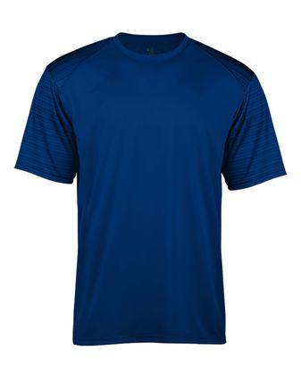 Badger Youth Sport Stripe T-Shirt 2125