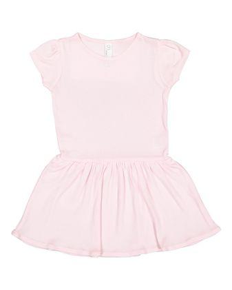 Rabbit Skins Toddler Baby Rib Dress 5323