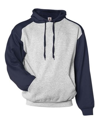 Badger Athletic Fleece Sport Hooded Sweatshirt 1249
