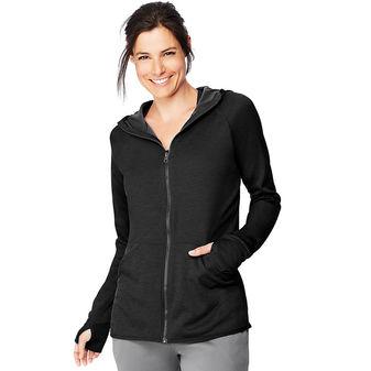 Hanes Sport Women\'s Performance Fleece Zip Up Hoodie O4873